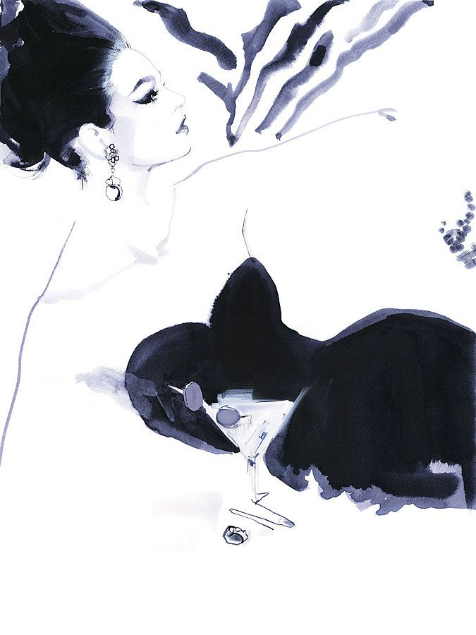 Decoy Magazine: David Downton - Couture Voyeur