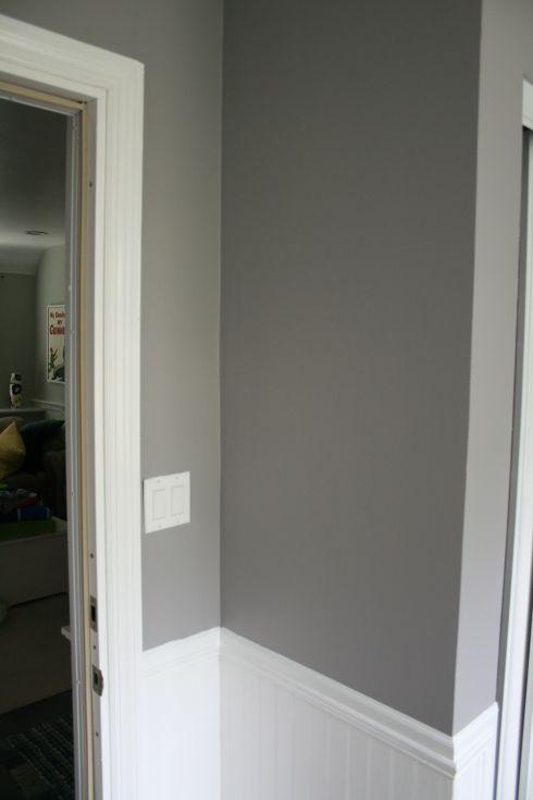 Benjamin moore eggshell finish super white bm fusion - Eggshell paint in bathroom ...