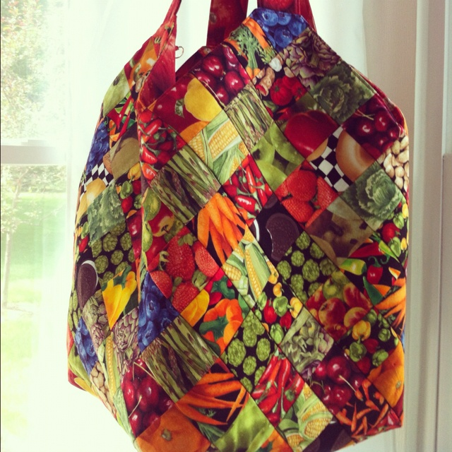 Mondo bag. This is the pattern of the bag I made. I need to make another one!