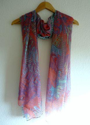 À vendre sur #vintedfrance ! http://www.vinted.fr/accessoires/echarpes/25075678-neuf-snood-tour-du-cou-foulard-echarpe-pareo-tropical-oiseaux-perroquets-riche-en-couleurs