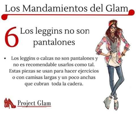 Mandamiento del Glam 6