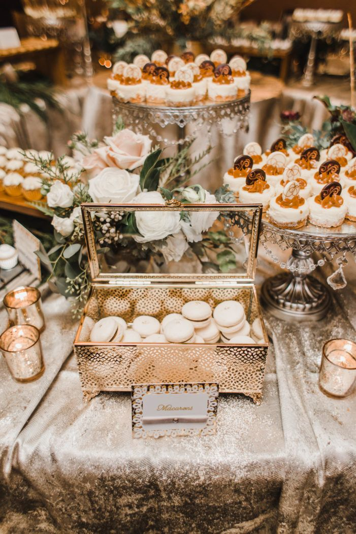 Wintery Congressional Country Club Wedding Wedding Dessert Table Decor Dessert Bar Wedding Wedding Dessert Table