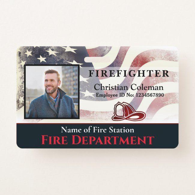 Custom Employee Name Id Card Logo Bar Code Photo Badge Identification Card Badge Id Card Badge Back To School Student Gra