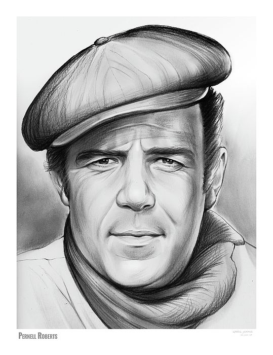 Pernell Elven Roberts, Jr. Pencil Sketch of the Day, June 22, 2017  (May 18, 1928 – January 24, 2010) was an American stage, film, and television actor, as well as a singer. In addition to guest-starring in over 60 television series, he was best known for his roles as Ben Cartwright's eldest son Adam Cartwright on the Western television series Bonanza (1959–1965), and as chief surgeon Dr. John McIntyre, the title character on Trapper John, M.D. (1979–1986).  He was also known for his…