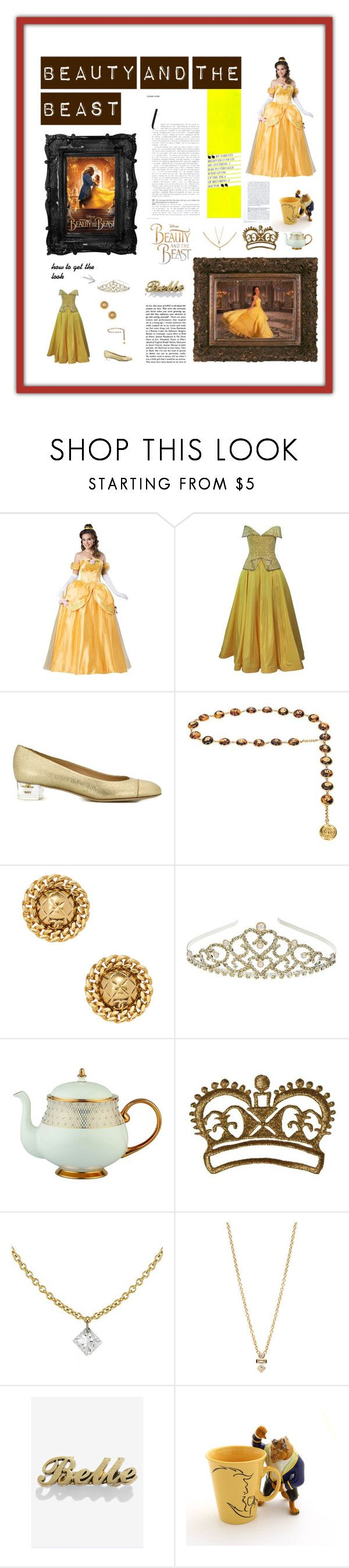 """""""My Stylying spree #BeautyandtheBeast  #contestentry"""" by preet310 ❤ liked on Polyvore featuring Disney, Murray Arbeid, Chanel, Monsoon, Prouna, ZoÃ« Chicco and vintage"""