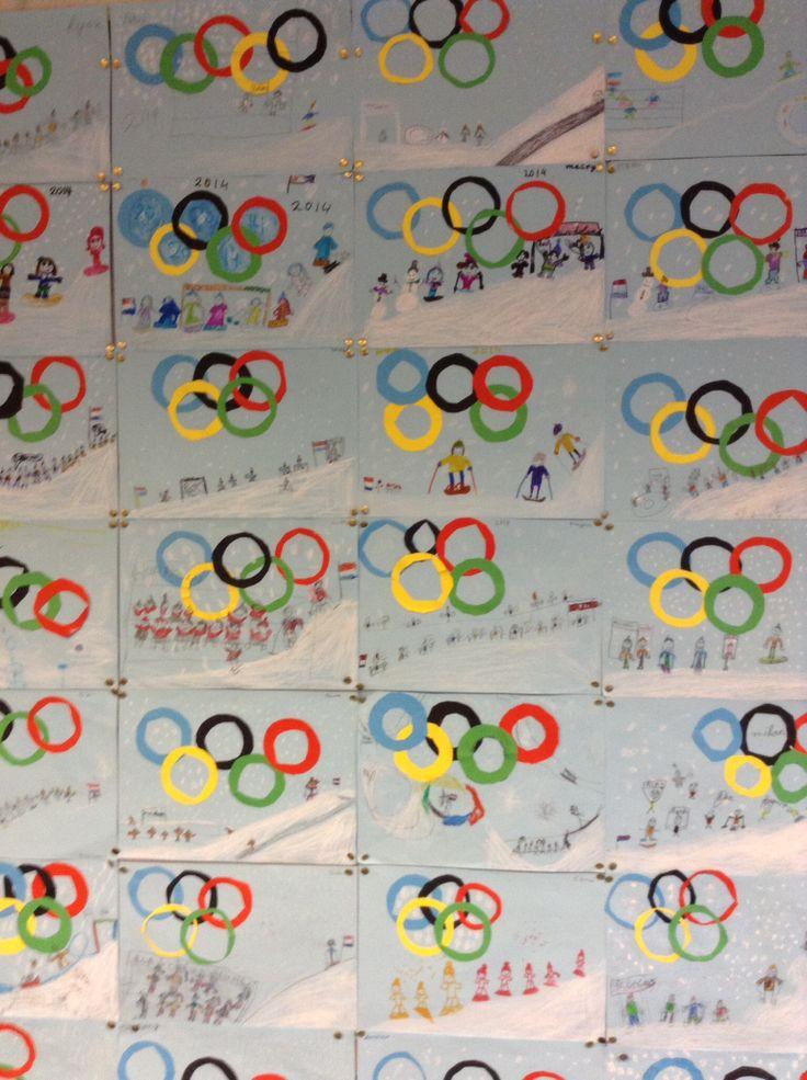 De Olympische winterspelen zijn begonnen !