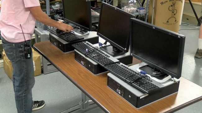 A group in Grand Rapids has decided to sell refurbished desktop computers to the community for much less than the normal asking price.