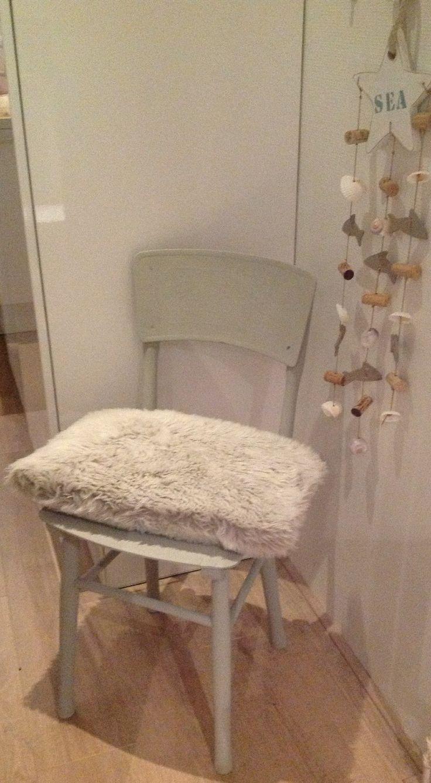 Leuke opgepimpte stoel, paris grey