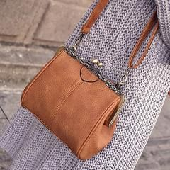 Simple Vintage Style Messenger Bag