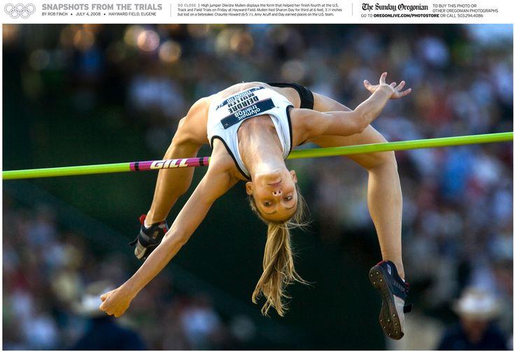 Dierdre Mullen high jump