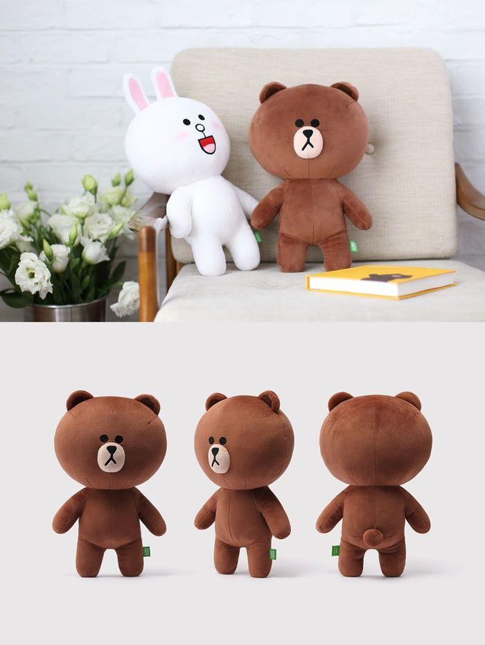 [LINE FRIENDS Official Goods] Brown Doll Season 3 (35cm)