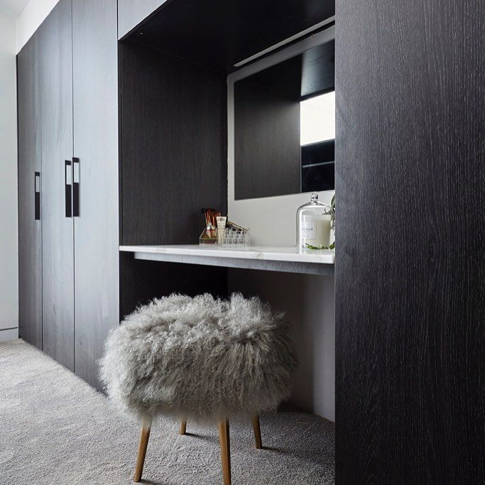 Love all of this.  Mirror style for vanity area.