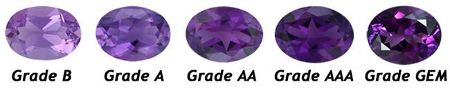 amethyst color chart - photo #12