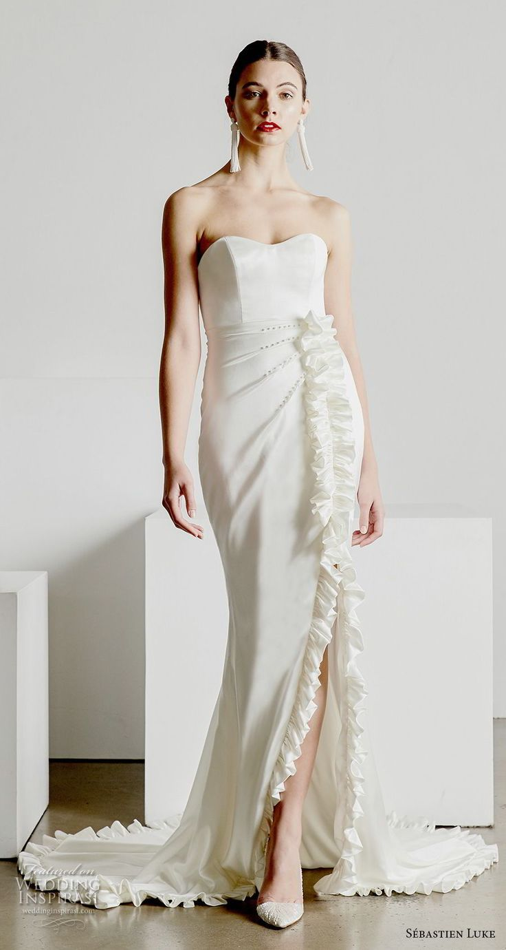 Sébastien Luke Spring 2019 Wedding Dresses