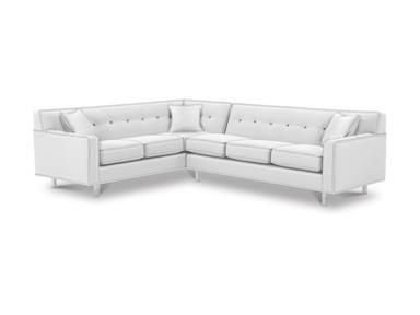 Shop For Rowe Dorset Chrome Leg Sectional K520C Sect And Other Living Room Sectionals At Americana Furniture In Tucker GA Create A Modern Vibe With The
