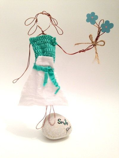 Wire Girl by TALITTA on Etsy