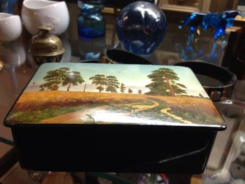 Old Signed Russian Box - $395