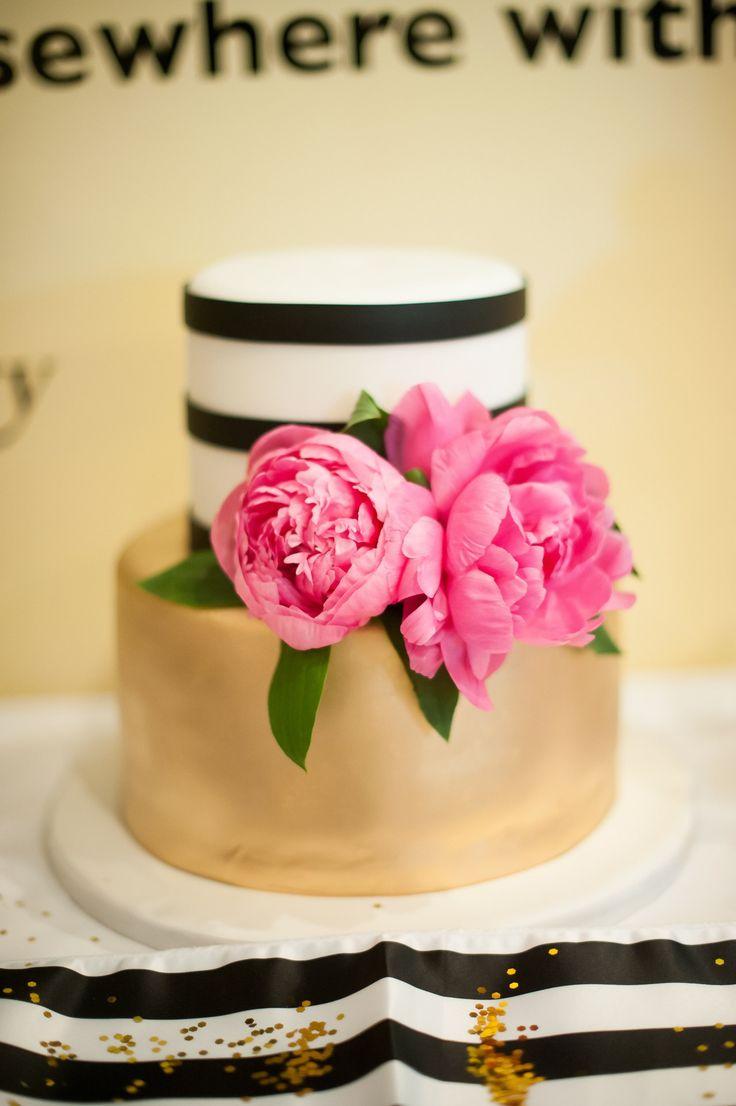 10 best Kate spade inspired wedding cake images on Pinterest | 40 ...