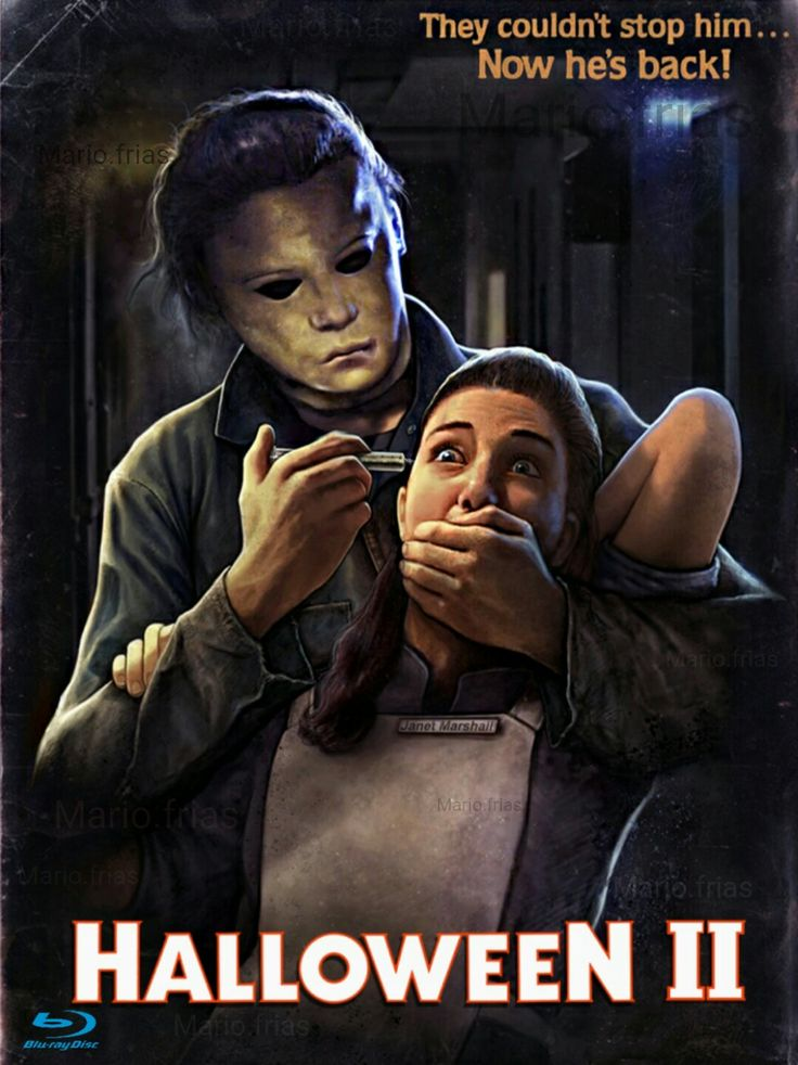 Halloween 2 Horror Movie Slasher Poster