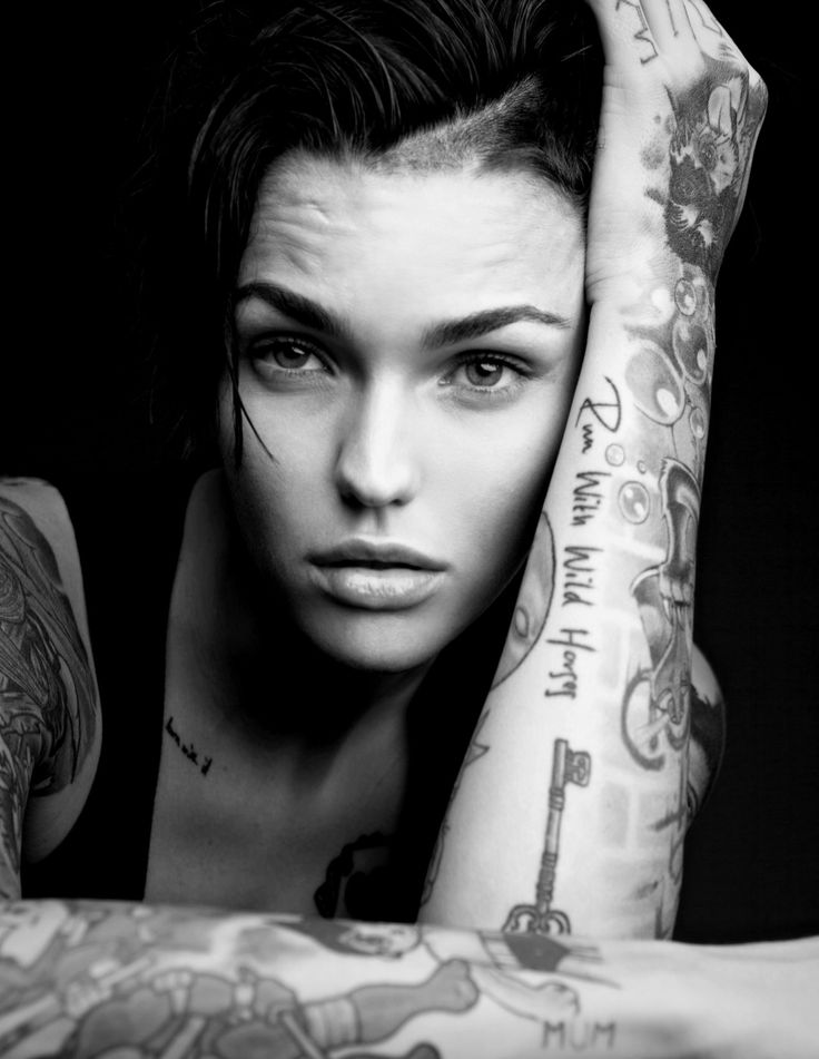 "charnell-me: "" Ruby Rose crush """