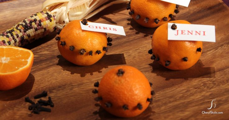 3 simple Thanksgiving place cards — Cherylstyle