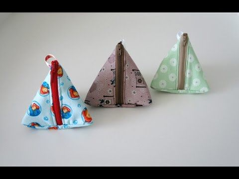 Albamare Manualidades - Handicrafts: Costura para torpes: Monedero triangular