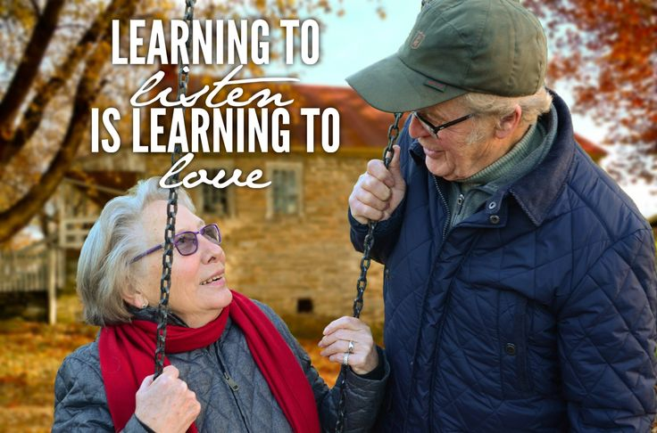 Learning to listen is learning to love - that's it!