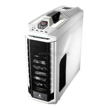 CM Storm Stryker, No PSU - White - Window