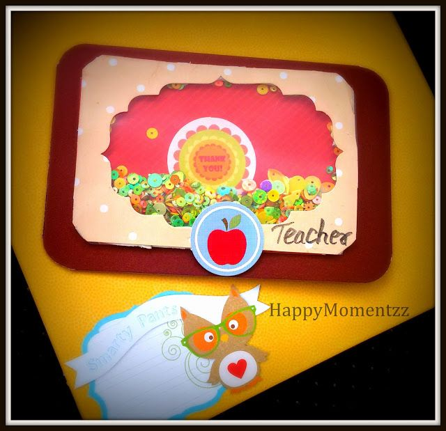 HappyMomentzz crafting by Sharada Dilip: teachers day