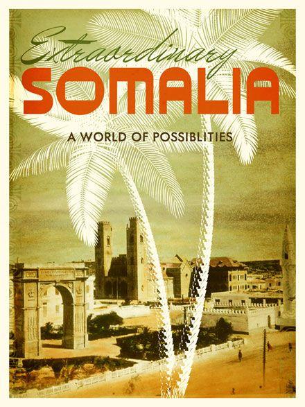 Somalia Travel Poster