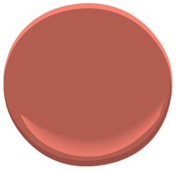 Moroccan Spice AF-285 Paint - Benjamin Moore....Best Burnt Orange  Kitchen Paint Color!!!