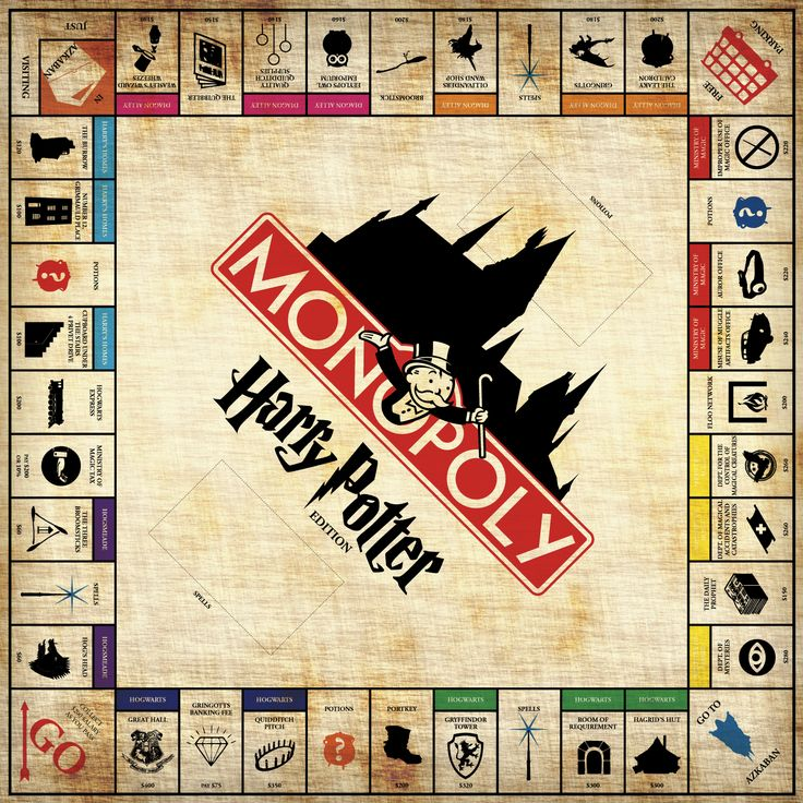 Harry Potter Monopoly! This guy full on created the game, but it is yet to be sold in stores or online. HURRY ELVES, FIGURE IT OUT