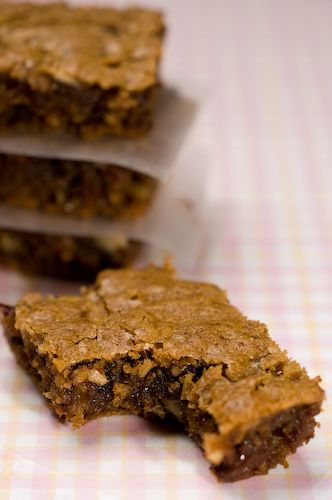 Blondie Brownies | Scrappy stuff | Pinterest | Blondie Brownies ...