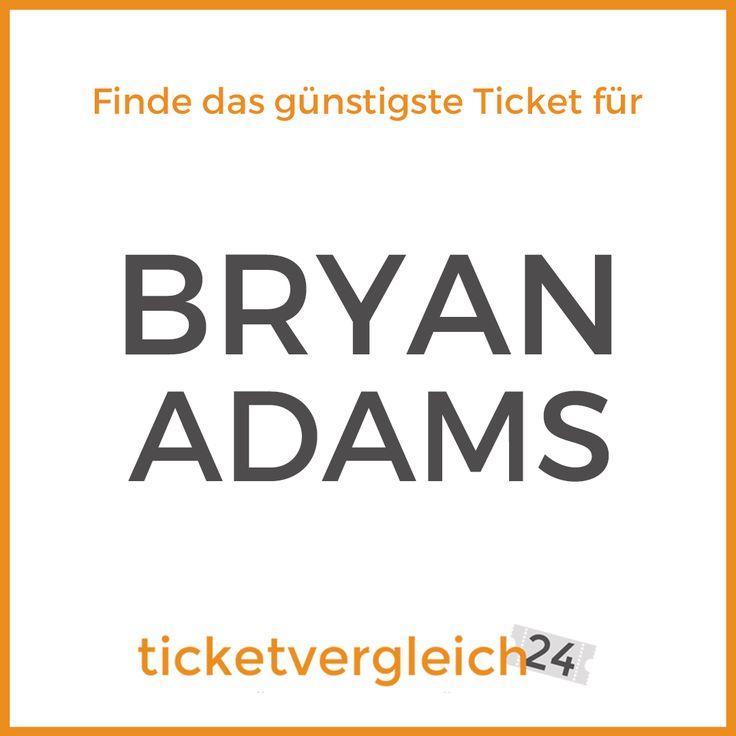 Ihr möchtet Bryan Adams im Februar 2017 live erleben?  NOCH könnt ihr euch die Tickets für seine Konzerte in Erfurt und Hannover sichern!  www.ticketvergleich24.de/artist/bryan-adams/    #bryanadams #tickets #ticketvergleich24 #konzert #musik #event #konzertkarten #erfurt #hannover