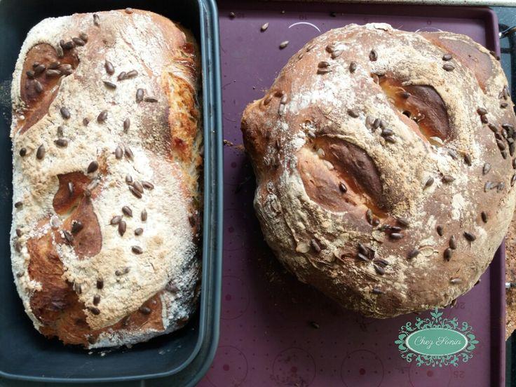 Pão dos 5min! Receita em www.chezsonia.pt
