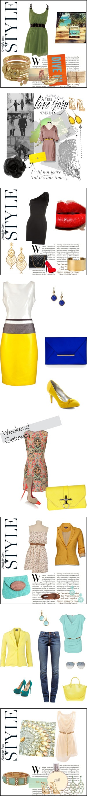 """The sunshine collection"" by gilleastwood on Polyvore"