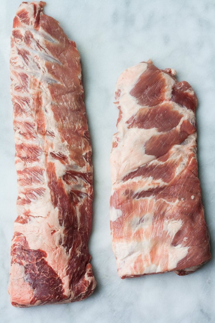 What's the Difference Between Baby Back Ribs and Spareribs?