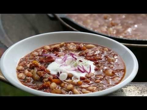 Cowboy Bohnen aus dem Dutch Oven - Baked Beans