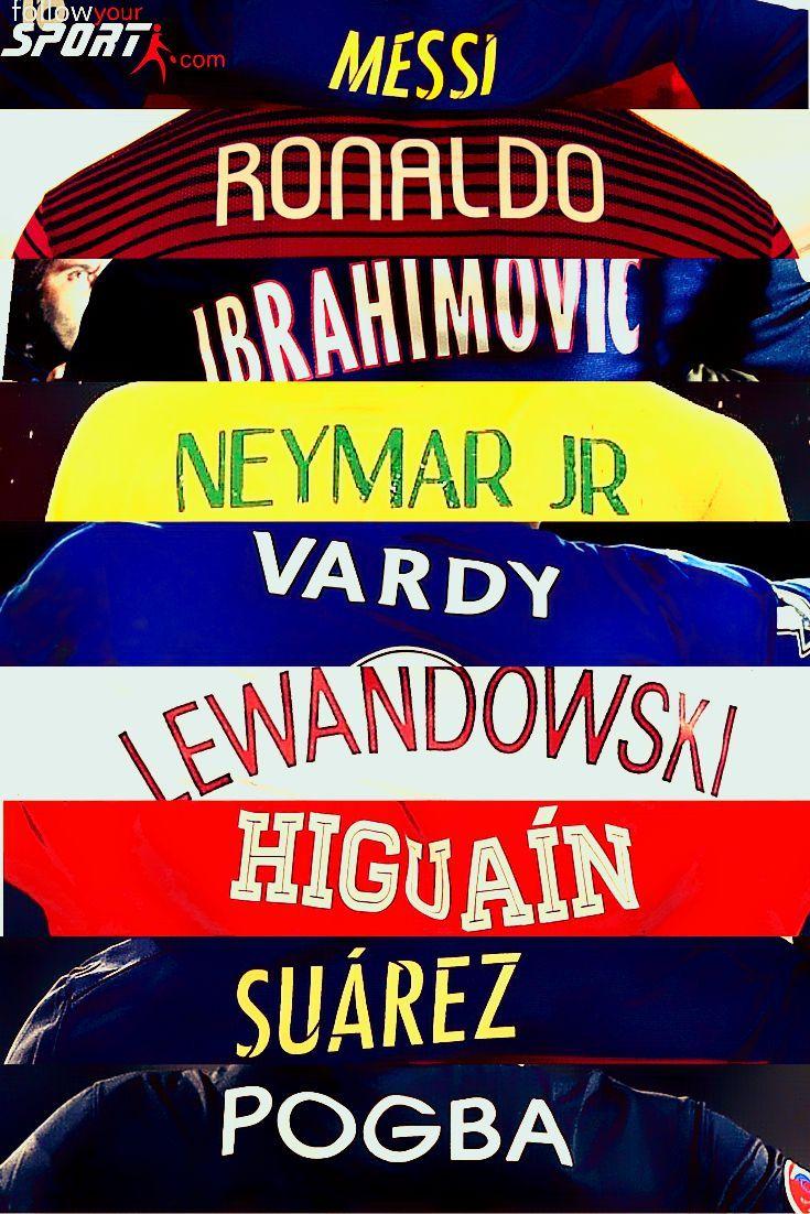 Which one is your favorite? ... #Messi #Ronaldo #CR7 #Ibra #Zlatan #Lionel #Ibrahimovic #Neymar #JamieVardy #Vadry #Lewandowski #Higuain #Suarez #Pogba #Football #Soccer #Legends #RealMadrid #Madrid #FCB #Barcelona