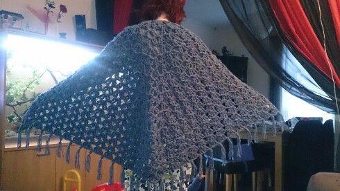 My nice warm shawl x