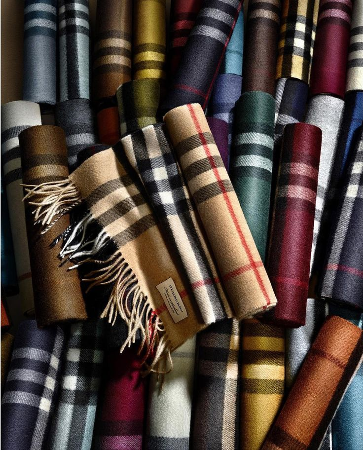 The Burberry Scarf Bar