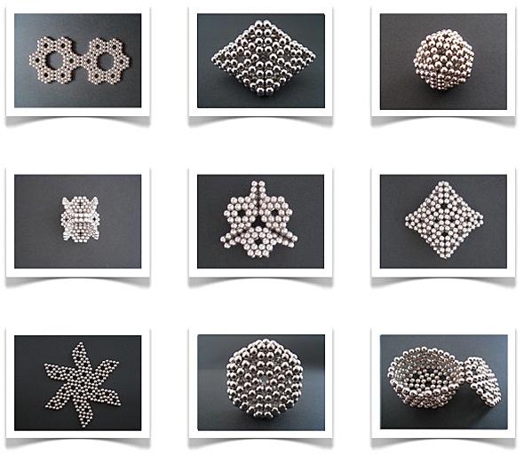NeoCubes - Kugelmagnete (5mm) in versch. Farben - wunderbar um geometrische Figuren zu formen oder auch um Geraden und Ebenen im Raum zu veranschaulichen - leider nicht ganz billig...