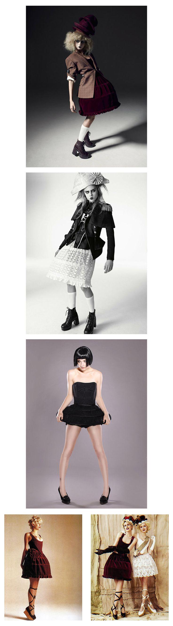 [비비안 웨스트우드 미니 크리니 드레스] Vivienne Westwood Mini-Crini Dress - 비비안 웨스트우드 컬렉션 :: Style Boire