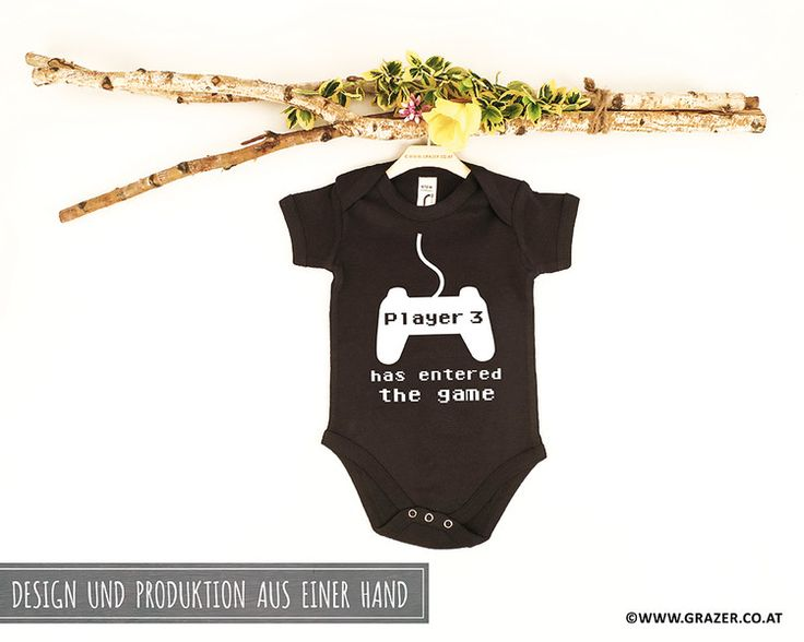 Bodys - Babybody mit Spruch | 9 - ein Designerstück von Dr_Grazer_und_Co bei DaWanda