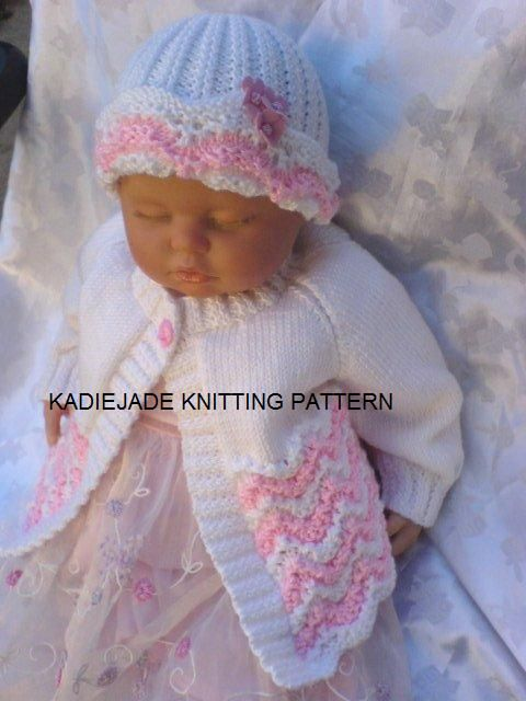 484 Best Knitting Patterns Baby Matinee Coats Images On Pinterest