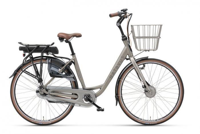 Torino E-go DK   Batavus 2016 - Mat Silver Grey / Developed in association with Hjerteforeningen