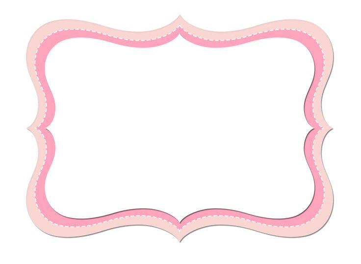 Rayas y Lunares Blanco y Rosa: Etiquetas para Candy Bar para Imprimir Gratis. | Ideas y material gratis para fiestas y celebraciones Oh My Fiesta!