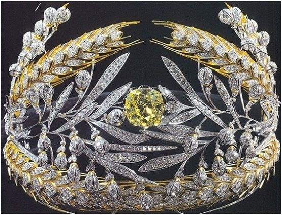 Crowns and Tiaras: Russian Field Diadem: Romanov Royals, Royals Crowns, Diamonds, Fields Tiaras, Russian Fields, Crowns Jewels, Jewelry, Royals Jewels, Gold