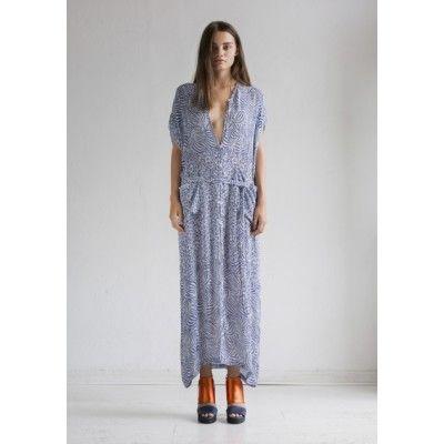Rodebjer - Saki Dress Indigo - Kotyr.com