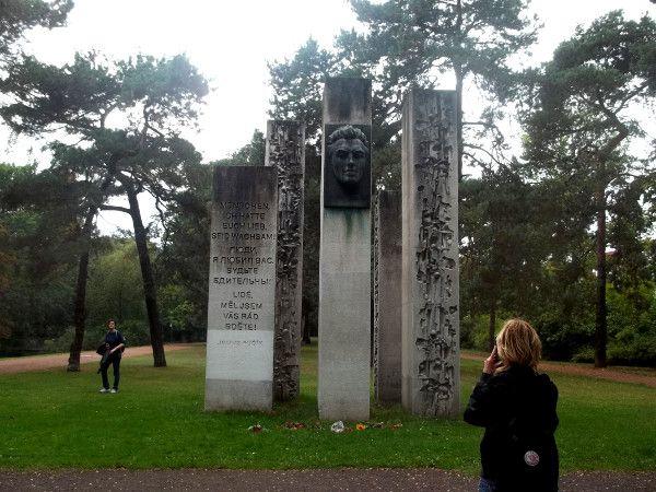 Julius Fucik memorial inside Bürgerpark, Pankow - Berlin
